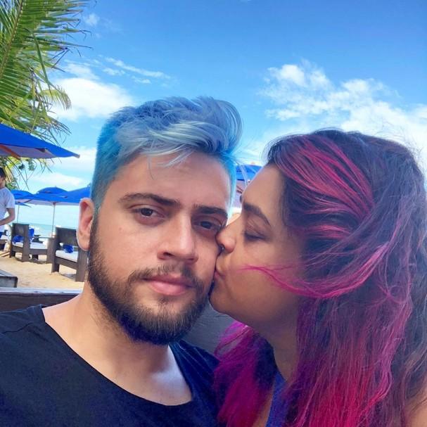 Preta Gil e Rodrigo (Foto: Instagram/Reprodução)