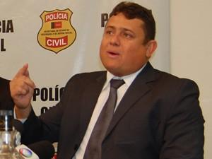 Wallber Vrigolino, secretário de Administração Penitenciária da Paraíba  (Foto: Jorge Machado/G1)