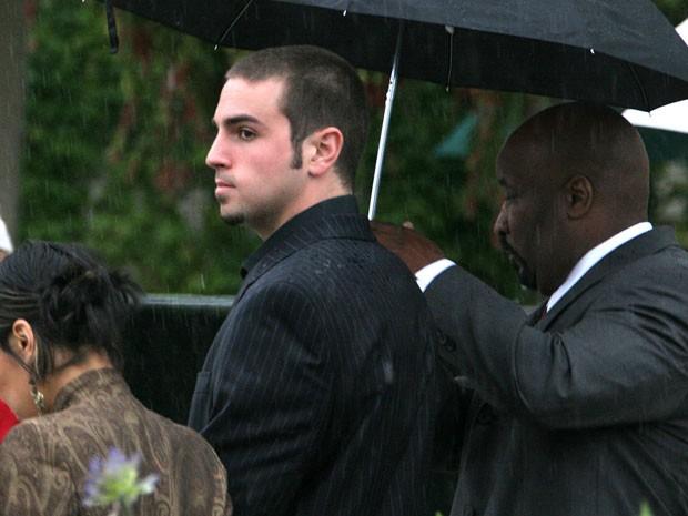O coreógrafo Wade Robson em foto de maio de 2005, quando depôs no julgamento por abuso sexual infantil de Michael Jackson. Na ocasião, ele negou ter sido molestado (Foto: AP Photo/Michael A. Mariant, File)