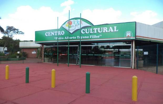 Centro Cultural Pedro Alberto Tayano Filho, no município de Tangará da Serra (Foto: Reprodução/TVCA)