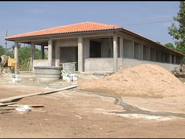 Novo Centro de Controle de Zoonozes de Cacoal deve ser entregue até o final  deste mês (Foto: Magda Oliveira/G1)
