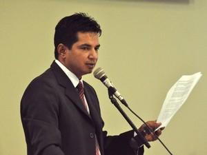 Vereador teve os votos anulados obtidos na eleição de 2012, ficando inelegível (Foto: Divulgação/CMBV)