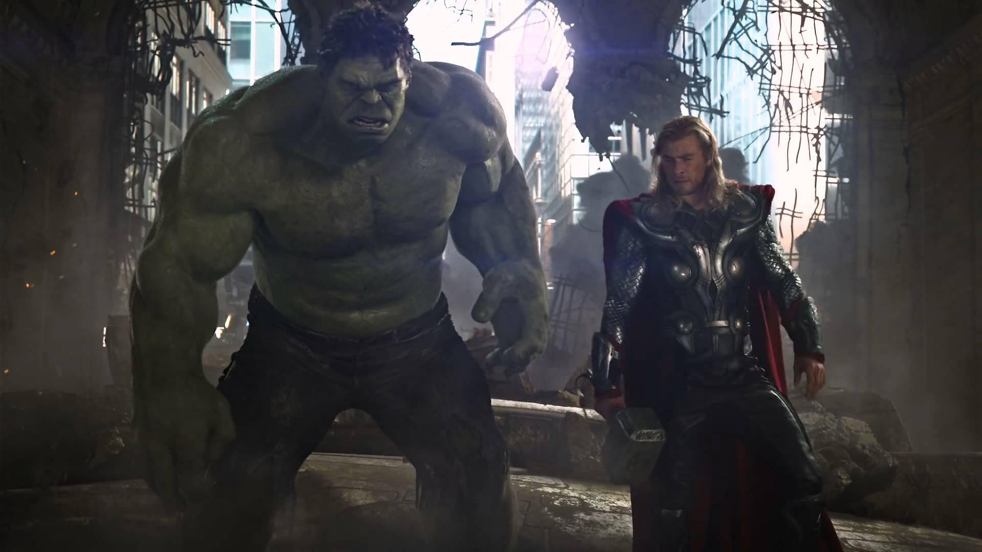 Onde estão Hulk e Thor (Foto: Reprodução)
