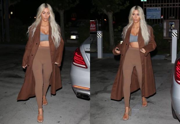 Kim Kardashian (Foto: Divulgação/Yeezy)