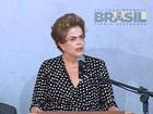 Dilma se compromete, em MG, a transformar Rio Doce no que era antes