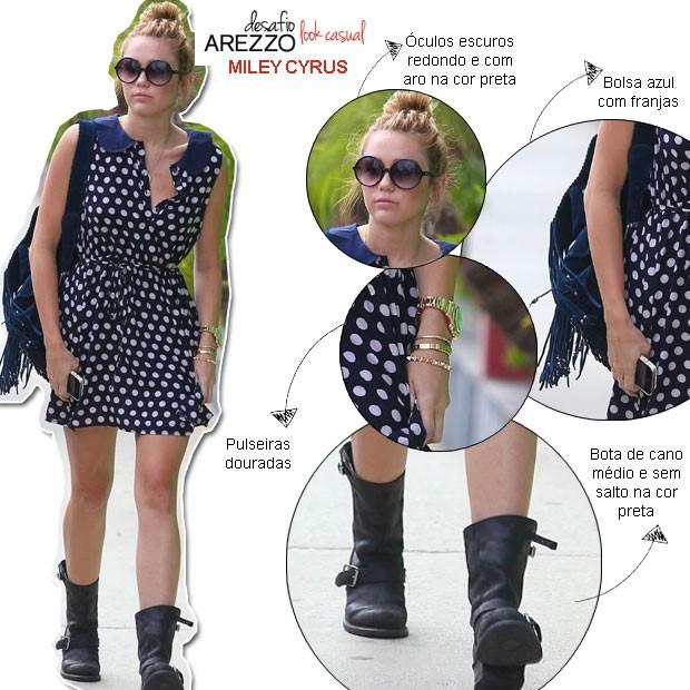 Miley Cyrus (Foto: Grosbygroup e Arte QUEM)