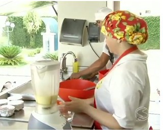 Projeto Sesi Cozinha Brasil (Foto: RJTV 1ª Edição)