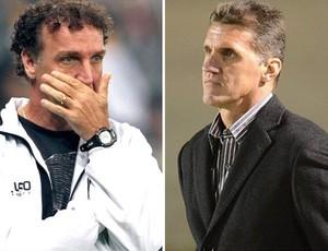 Cuca; Vagner Mancini; Atlético-MG; Atlético-PR (Foto: Globoesporte.com)
