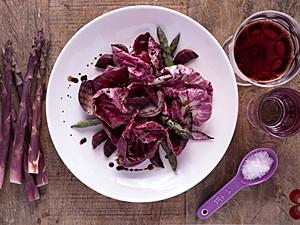 Salada púrpura radiccio (Foto: Luis Simione/Cozinha da Matilde/Divulgação)