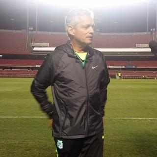 Reinaldo Rueda técnico Atlético Nacional (Foto: Bruno Rocha)