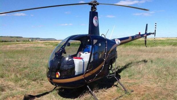 Ananov tentava dar volta ao mundo sozinho em helicóptero (Foto: Sergey Ananov)