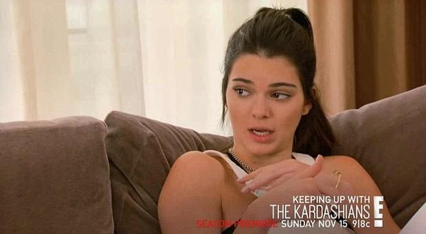 Kendall Jenner (Foto: Reprodução/ E!)