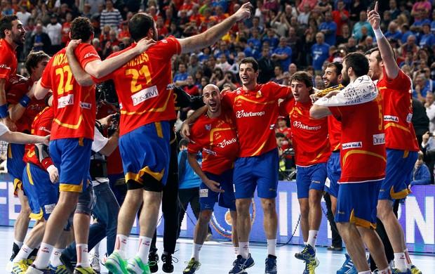 Handebol Espanha campeã (Foto: Reuters)