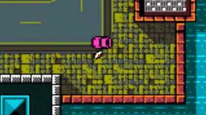 GTA no Game Boy Color era um feito técnico impressionante, mas não muito divertido de jogar (Foto: Reprodução/YouTube)