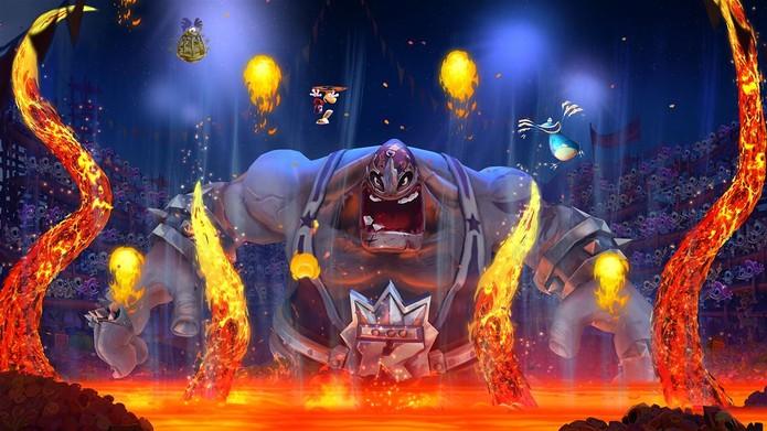 Rayman Legends deve seu belo visual à engine UbiArt da Ubisoft (Divulgação/Ubisoft)