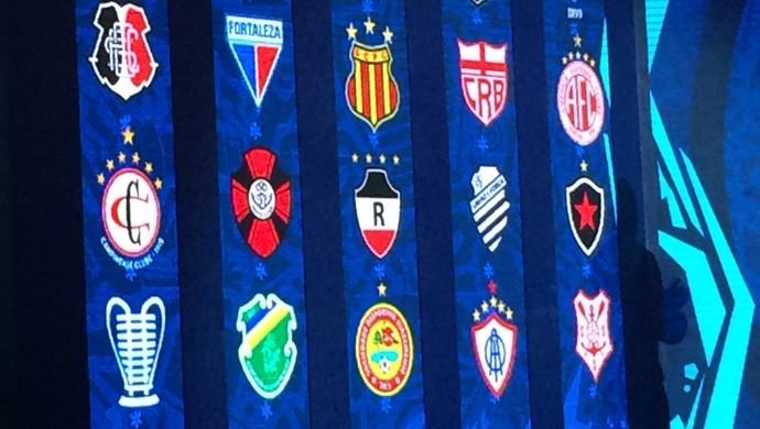 Copa do Nordeste, Nordestão, grupos (Foto: Edgley Lemos / GloboEsporte.com)