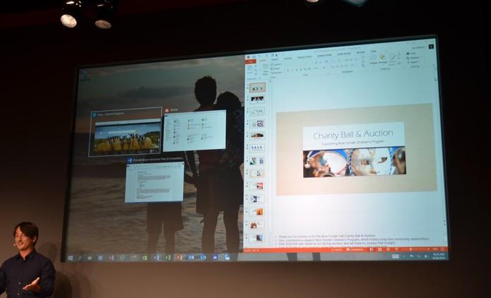 Snap Assist, Microsoft revela função para múltiplos desktops no Windows 10 (Foto: Reprodução/TheVerge)