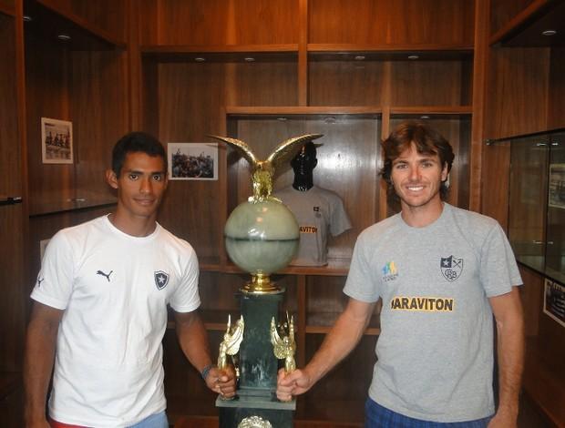 Ailson Eraclito e Diego Nazario, do remo do Botafogo (Foto: Divulgação)