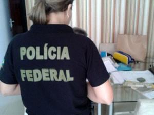 Ação foi realizada nesta segunda, em Natal (Foto: Divulgação/PF)