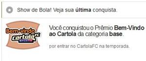 Cartola Distintivo (Foto: Globoesporte.com)