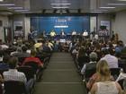 Candidatos a prefeito de Araraquara, SP, discutem propostas em debate