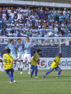 Partida entre Comercial e CSA terminou 0 a 0 (Foto: Caio Lorena / Globoesporte.com)