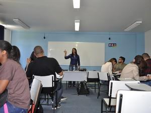 Curso técnico de logística é oferecido pelo Sisutec na Estácio Resende (Foto: Fernanda Leal/Ascom Universidade Estácio)