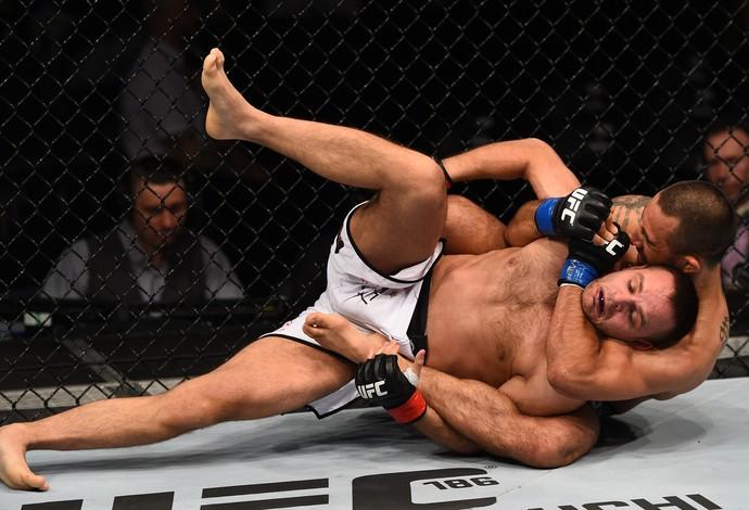 Yaotzin Meza Damian Stasiak UFC (Foto: Getty Images)