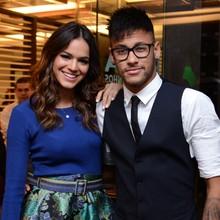Bruna Marquezine e Neymar assistiram ao último capítulo (Raphael Dias / TV Globo)