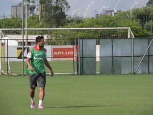 Alan Ruschel lateral-esquerdo Inter (Foto: Tomás Hammes / GloboEsporte.com)