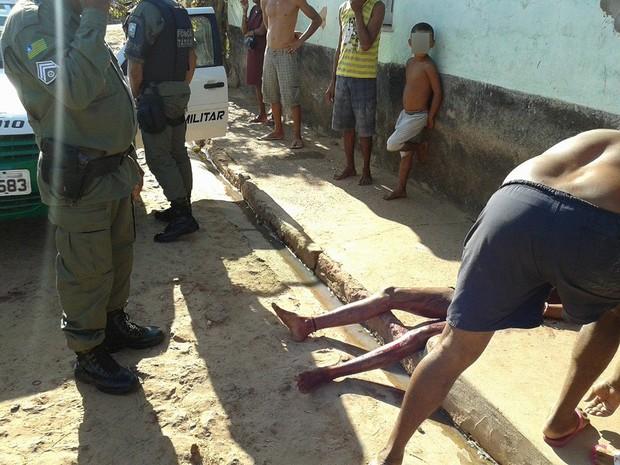 Mulher foi morta com várias facadas em União (Foto: Carneirinho/Arquivo Pessoal)