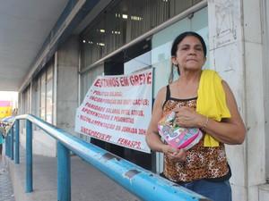 Graça Marques procurou agência pela terceira vez (Foto: Catarina Costa/G1)