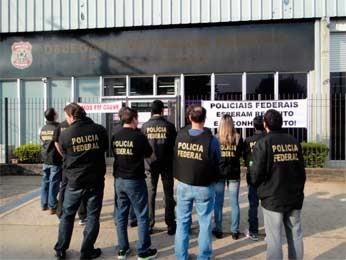 Polícia Federal promete retomar paralisação após o período eleitoral (Foto: Divulgação/SinpefRS)