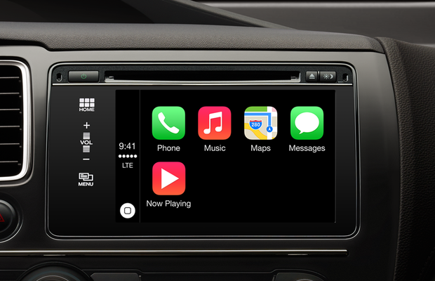 Apple CarPlay tela inicial (Foto: Divulgação)