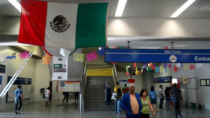 metrô recife méxico (Foto: Daniel Gomes)