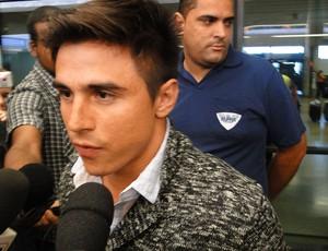 William, novo jogador do Cruzeiro (Foto: Mauricio Paulucci)