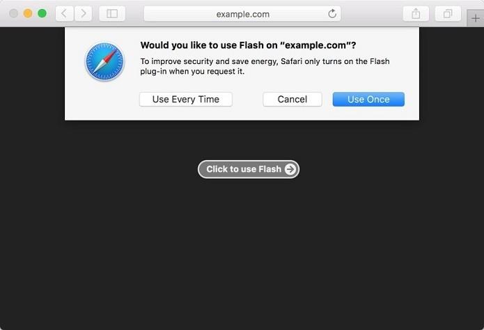 MacOS passará a ter conteúdo de plugins no Safari desativado por padrão (Foto: Reprodução/MacRumors)