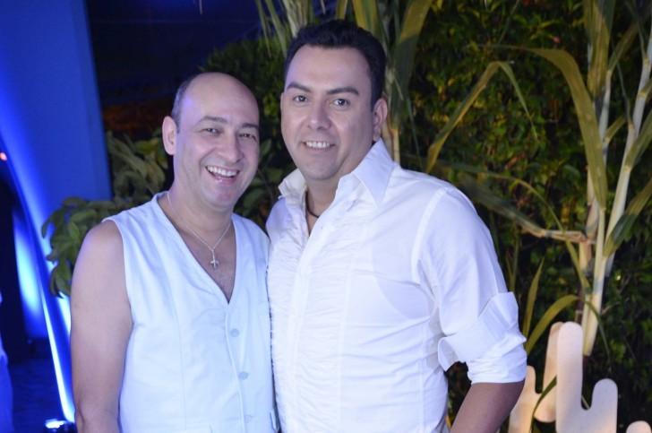 César Santos e Auricélio Romão