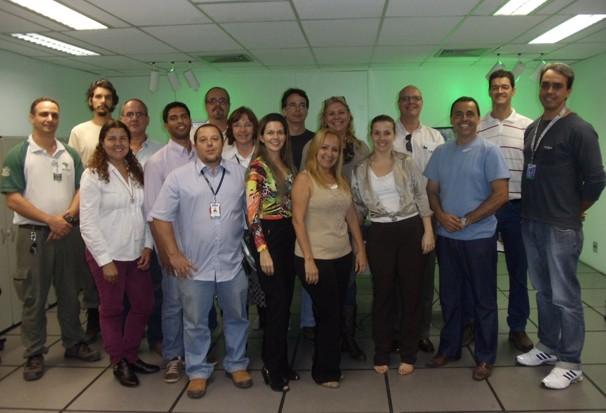 Reunião sobre o Dia Mundial de Limpeza (Foto: Ana Luisa Monteiro/TVRioSul)
