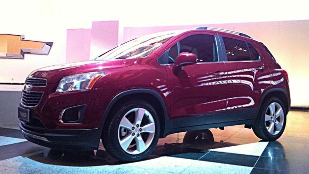 Novo Chevrolet Tracker é lançado em São Paulo (Foto: General Motors)