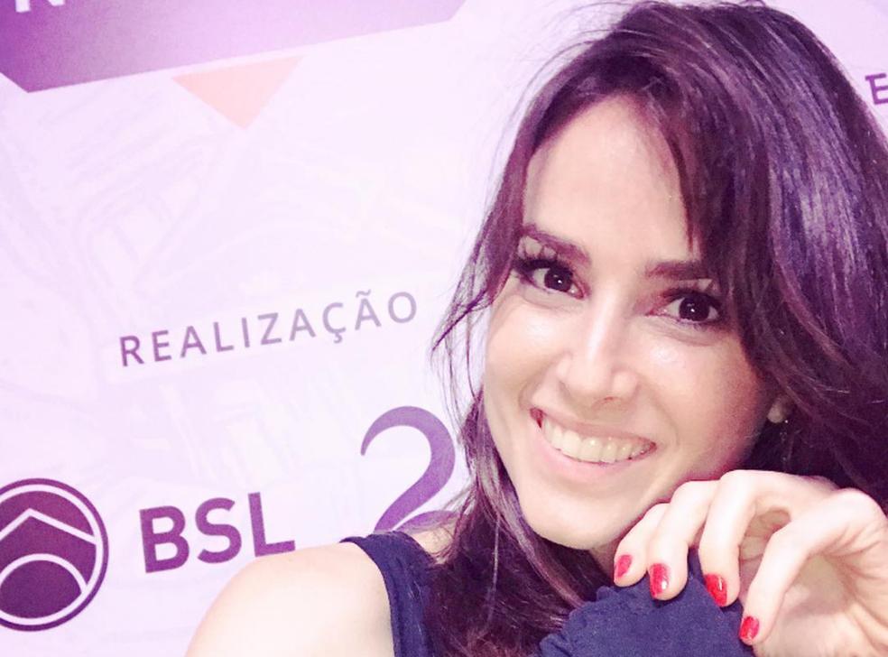 Bia Bauer no no BSL Nordeste (Foto: Reprodução/Instagram)