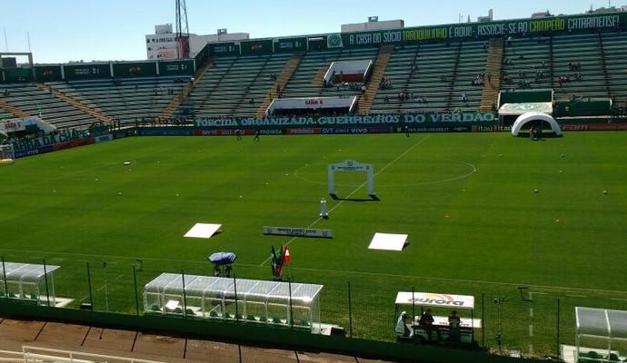 Arena Condá, Coritiba x Chapecoense (Foto: Divulgação/Coritiba)
