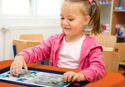 A PlayTable traz jogos educativos e de entretenimento  (Foto: Divulgação)