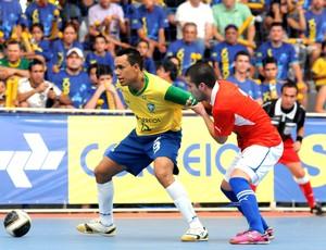 Brasil vence o Chile pelo Sul-Americano de Futsal (Foto: Luciano Bergamaschi/CBFS)