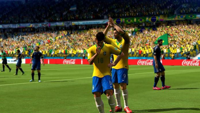 Neymar em Copa do Mundo Fifa Brasil 2014 (Foto: Reprodução / Murilo Molina)