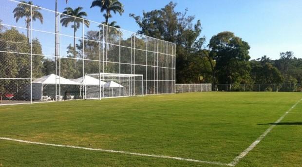 Novo campo do Recanto da Macaca (Foto: Guilherme Dorigatti/ PontePress)