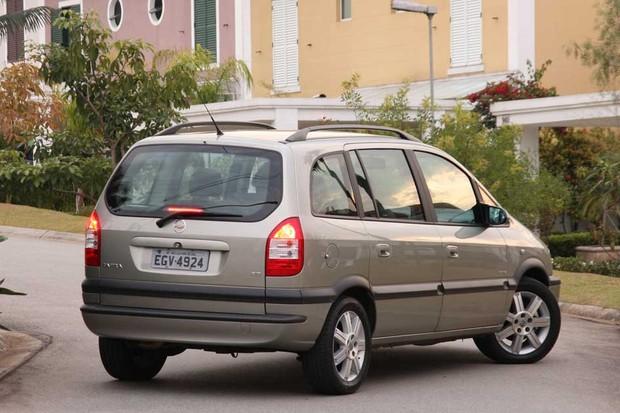Chevrolet Zafira (Foto: Divulgação)