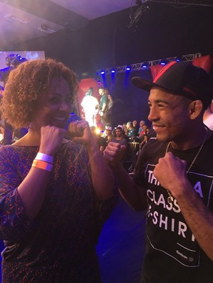 Valéria Valenssa, José Aldo, Shooto Brasil, MMA