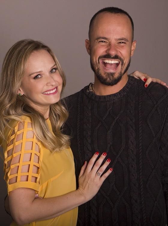 Paulinho Vilhena e Fernanda Rodrigues reestreiam a peça Tô grávida neste sábado (2) no Teatro Fashion Mall, no Rio (Foto: Divulgação) (Foto: Divulgação)