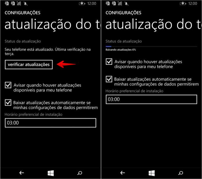 Abra as configurações do Windows Phone (Foto: Reprodução/Helito Bijora)
